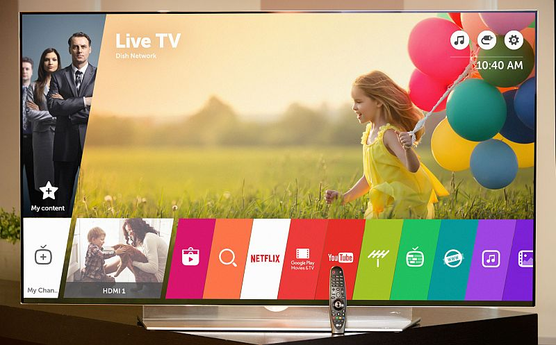 LG to Launch webOS 3.0 for Smart TVs at CES 2016