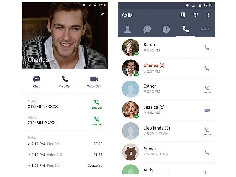 Line for Android Update Rebrands Line Premium Call to Line