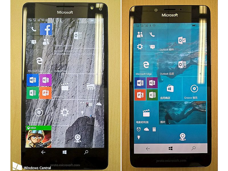 Microsoft Lumia 950, Lumia 950 XL, Lumia 550 Spotted in New Leaked Images