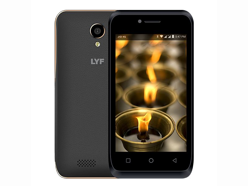 Lyf Flame 6 With 4G VoLTE Support Launched at Rs. 3,999