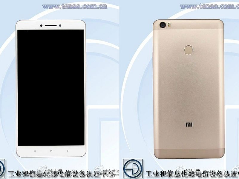 Xiaomi Mi Max Allegedly Hits Certification Site With Images, Specifications