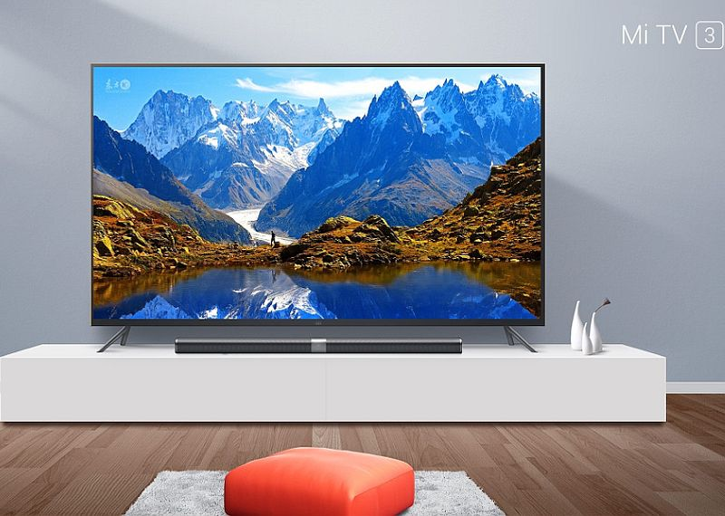 Xiaomi Mi TV 3 With 70-Inch 4K Display Launched