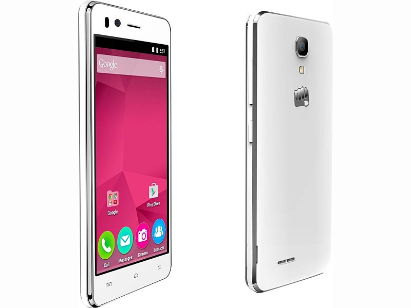Micromax Bolt Selfie With 4G Support, 5-Megapixel Front Camera Launched at Rs. 4,999