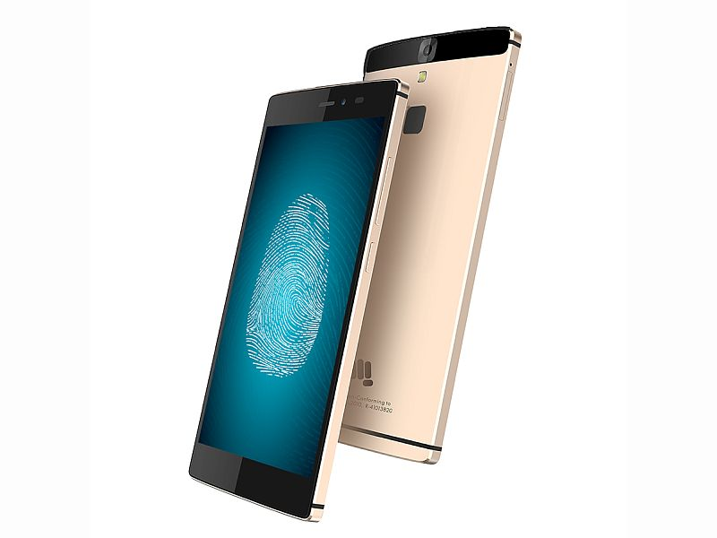 premium selection 640db a2bd0 Micromax Canvas 6 With Fingerprint Scanner Launched at Rs. 13,999 ...