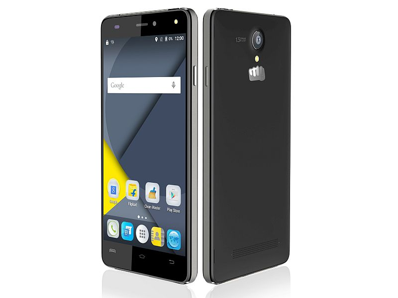 Micromax Canvas Pulse 4G With 13-Megapixel Rear Camera Launched at Rs. 9,999