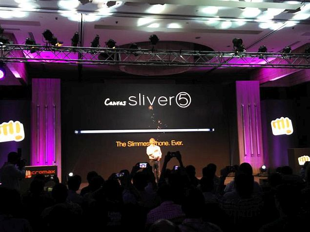 Micromax Canvas Sliver 5 With 5.1mm Thickness Launched at Rs. 17,999