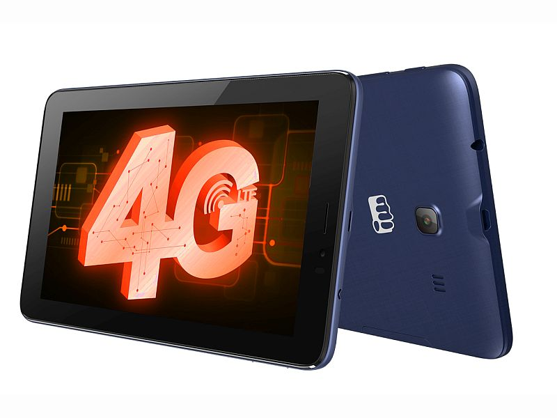 Micromax Canvas Tab P701 4G Voice-Calling Tablet Launched at Rs. 7,250