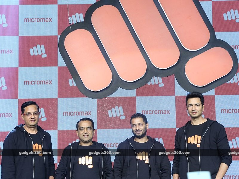 micromax new logo launch