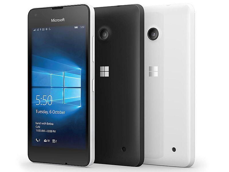 Microsoft Lumia 550 With Windows 10 Mobile Goes on Sale