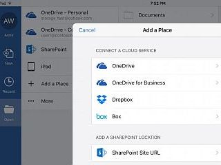 Microsoft Office Gets New Cloud Storage Options for iOS and Web