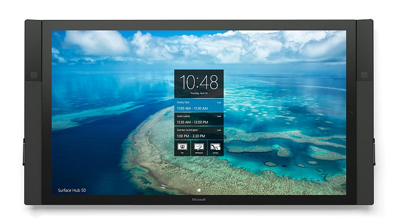 Microsoft Surface Hub Finally Starts Shipping to Business Customers