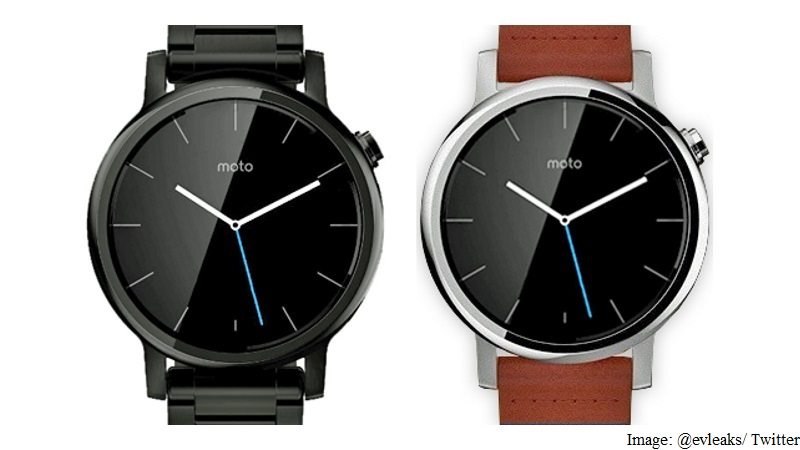 Moto 360 Smartwatch Successor Press Renders Leaked