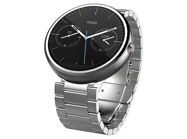 Moto 360's New Metal Band Variants Now Available in India