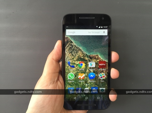 Moto G 3rd Gen With Android 5 1 Lollipop, Dual SIM 4G