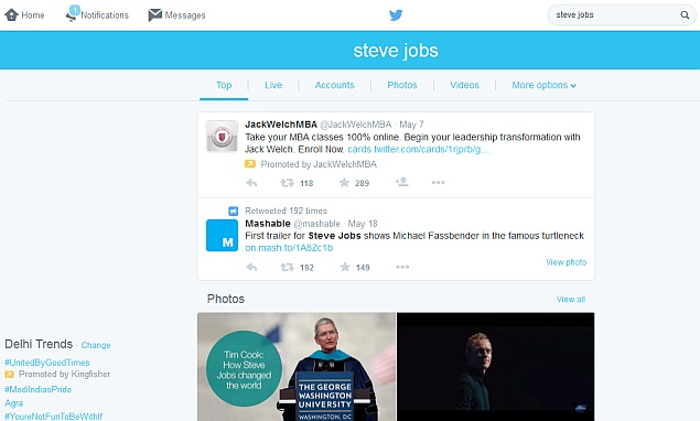 Twitter Starts Rolling Out New Search Results Interface