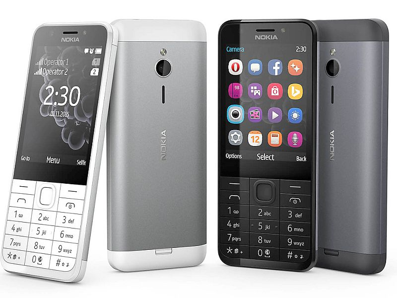 Nokia 230 Dual SIM Internet-Enabled Feature Phone Launched at Rs. 3,869