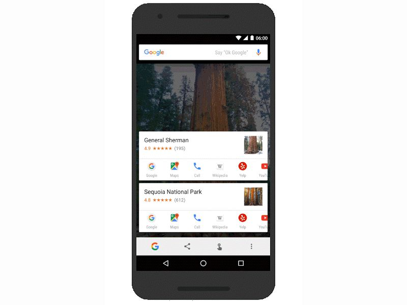 Google's Now on Tap Update Brings Text Select and Image Search