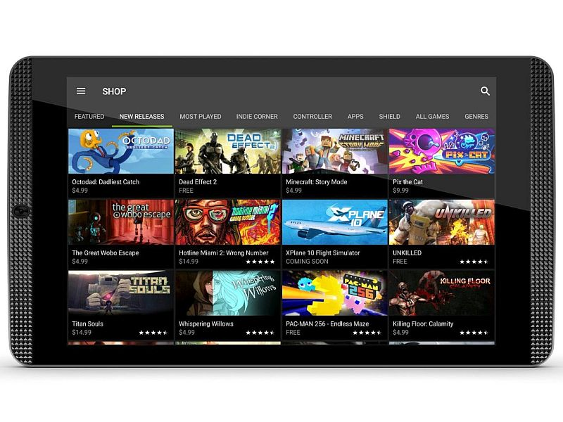 Nvidia Shield Tablet K1 With 8-Inch Display, Tegra K1 SoC Launched