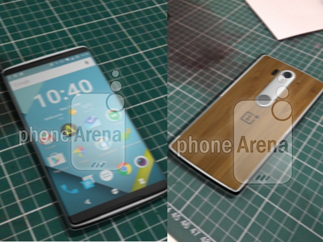 OnePlus 2 images leaked online, suggest slimmer bezels, fingerprint scanner and much more