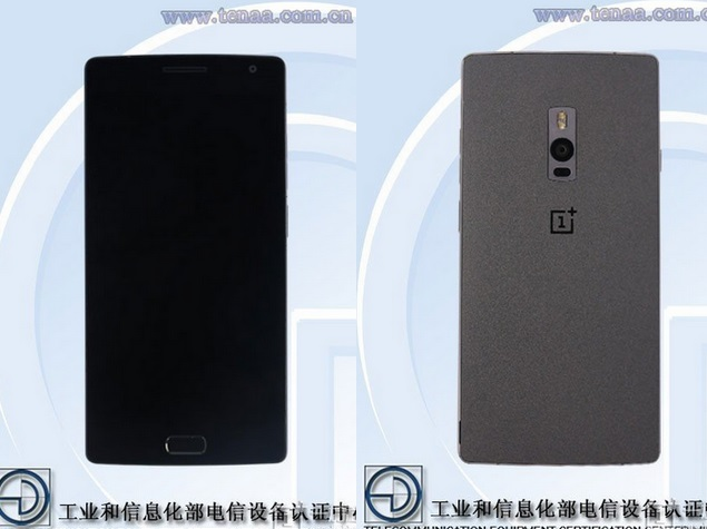 OnePlus 2 Gets Listed on Tenaa With Images, Specifications