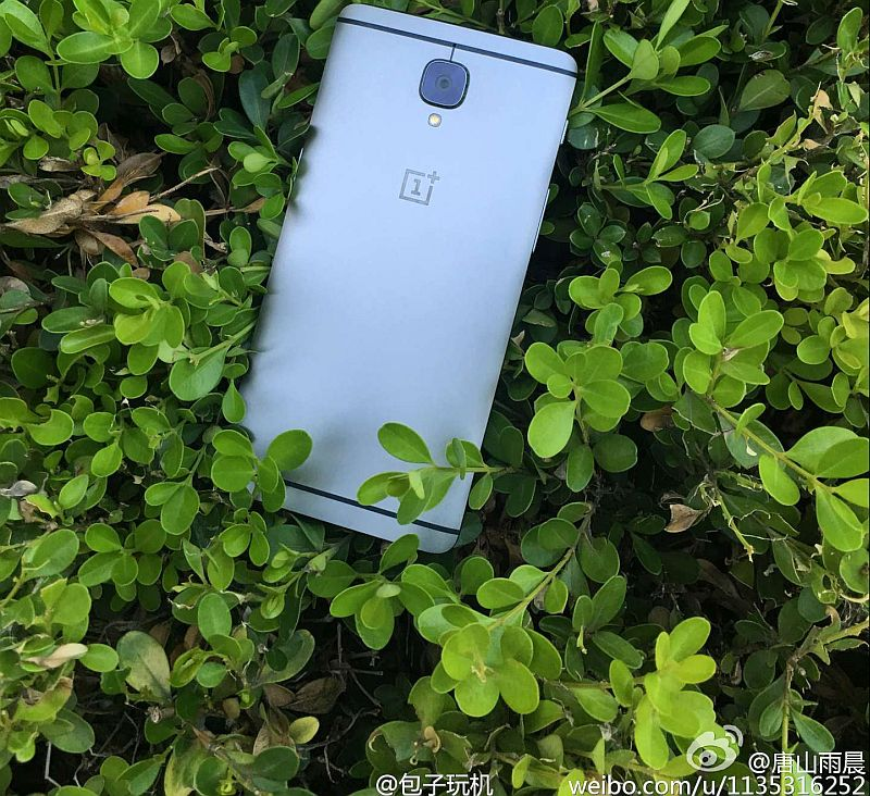 OnePlus 3 Leaked in Live Images Ahead of Launch Today