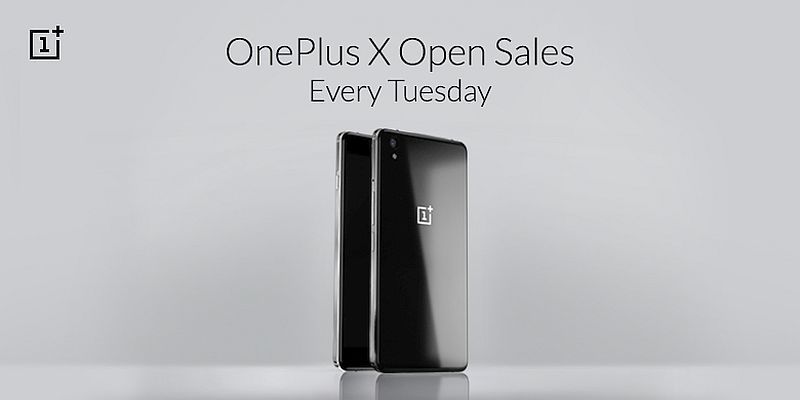 OnePlus X to Be Available Without Invites Every Tuesday