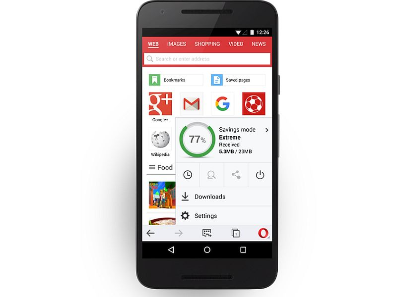 Opera Mini for Android Update Brings Improved Download