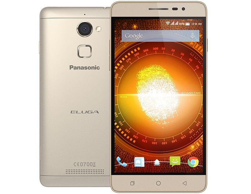 Panasonic Eluga Mark With 4G Support, Fingerprint Sensor Launched at Rs. 11,990