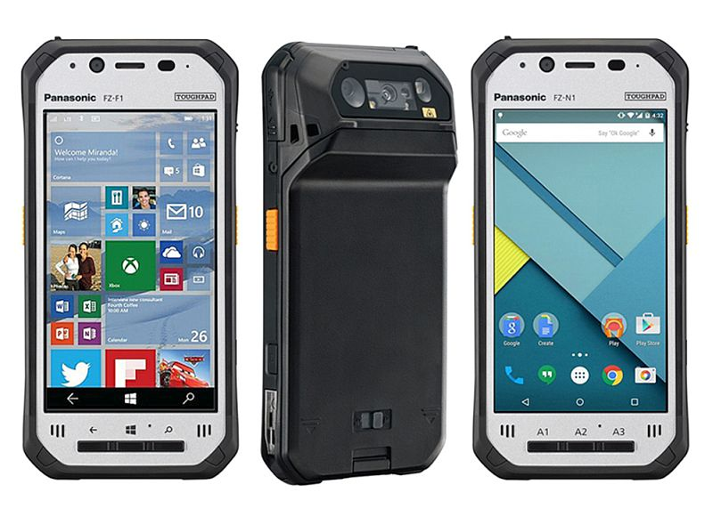 Panasonic Toughpad Fz F1 N1 Rugged Smartphones Launched At Mwc 2016