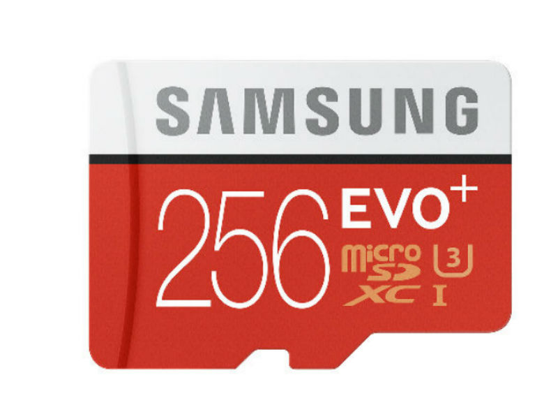 Samsung Evo Plus 256GB MicroSD Card Launched at Rs. 12,999
