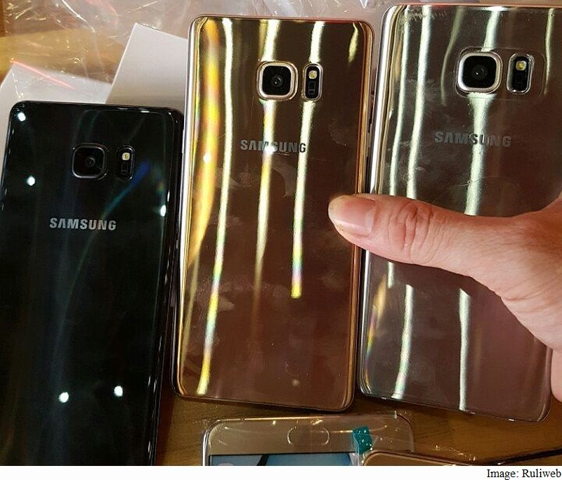 Samsung Galaxy Note 7 Leaked in Live Images With Retail Box