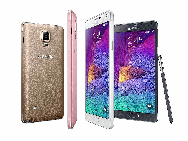 Samsung Galaxy Note 4 Receiving Android 6.0.1 Marshmallow Update in India