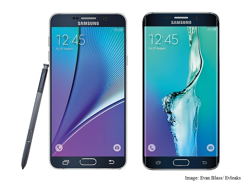 Samsung Galaxy Note 5 Specifications, Press Render Leaked; Galaxy S6 Edge Plus Pictured