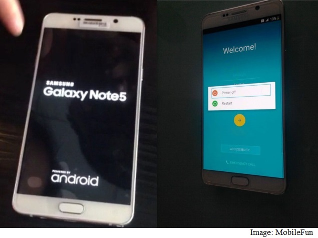 Samsung Galaxy Note 5, Galaxy S6 Edge Plus Spotted in Leaked Images