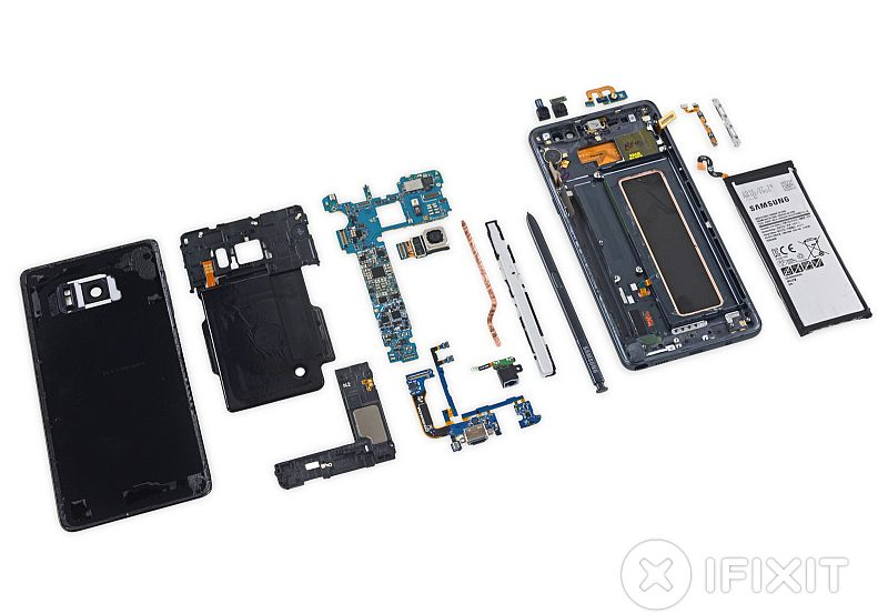 Samsung Galaxy Note 7 Teardown Suggests It's Very Difficult to Repair