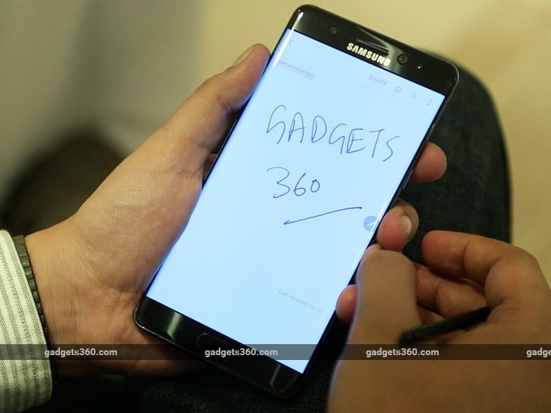 Samsung Galaxy Note 7 Shipments Delayed in India