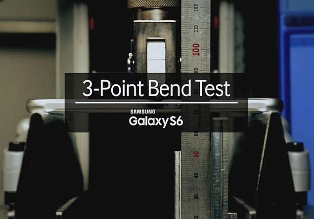 Samsung Disputes Galaxy S6 Edge Bend Test With One of Its Own
