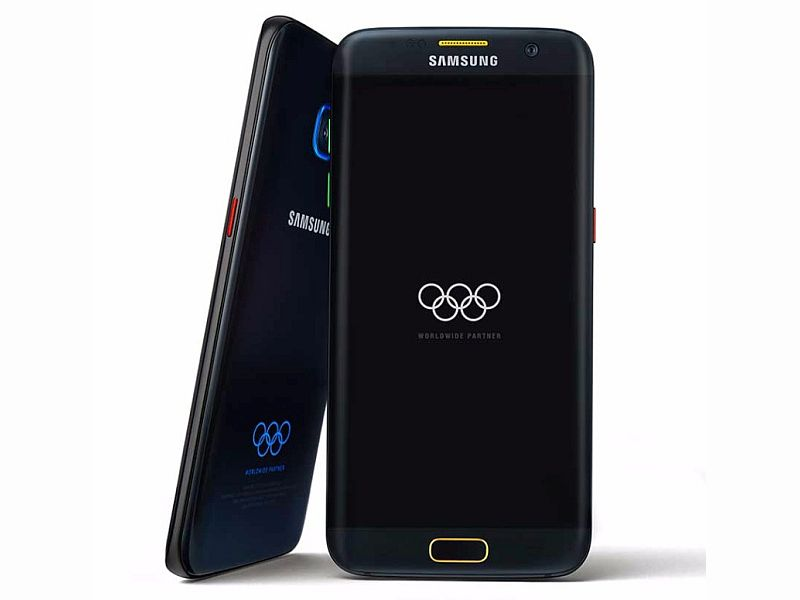 Samsung Galaxy S7 Edge Olympic Games Limited Edition Launched
