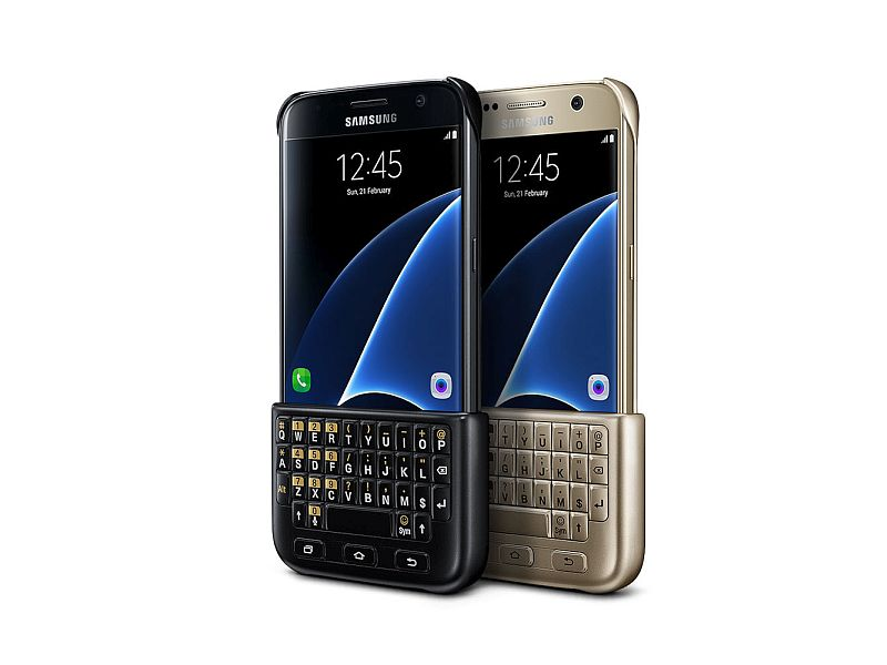 check out 1dac2 fc026 Samsung Galaxy S7, S7 Edge Keyboard Cover, Backpack Launched at MWC ...
