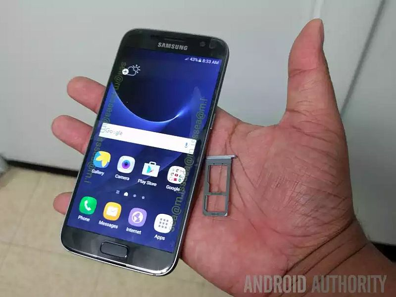 Samsung Galaxy S7 Spotted in New Leaked Live Images, Video
