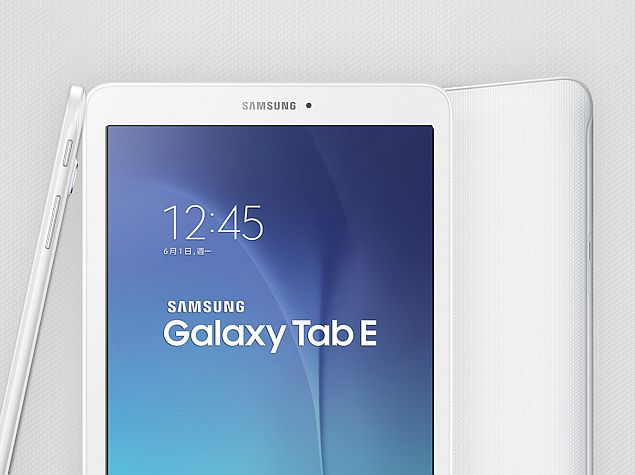 Samsung Galaxy Tab E With 9.6-Inch Display Launched