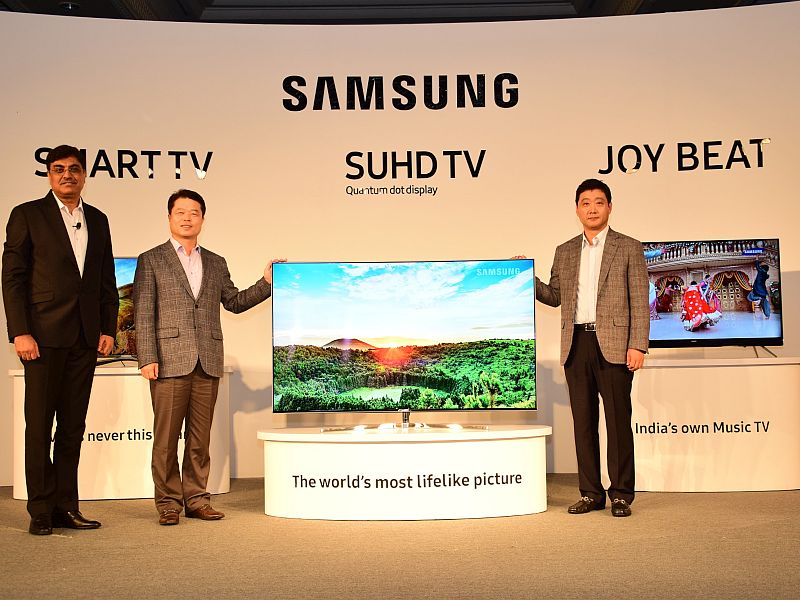 Samsung TVs to Come With a Cricket Ticker App in India