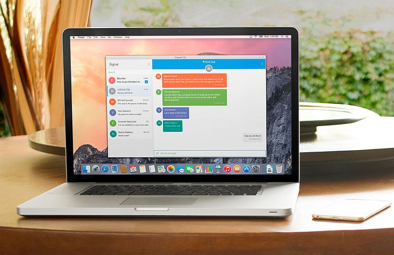 Signal Desktop App With End-to-End Encryption Now Available to All