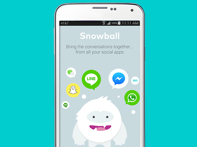 Snowball for Android Is Your Single Window to All Other Messaging Apps
