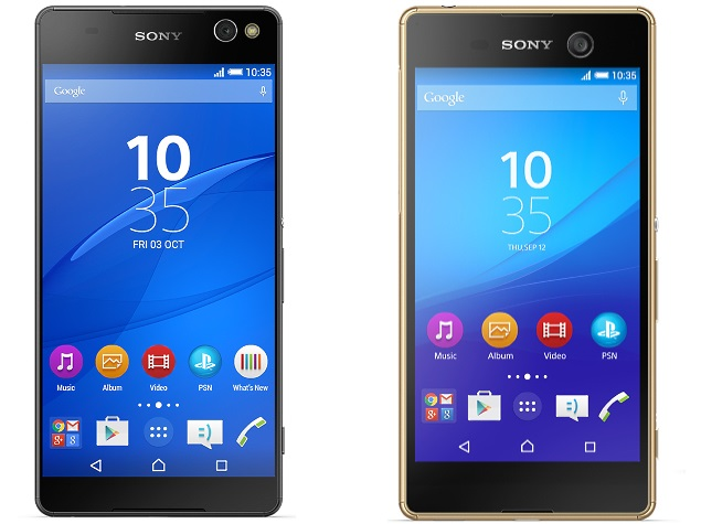 Sony Xperia C5 Ultra, Xperia M5 Selfie-Focused Smartphones Launched