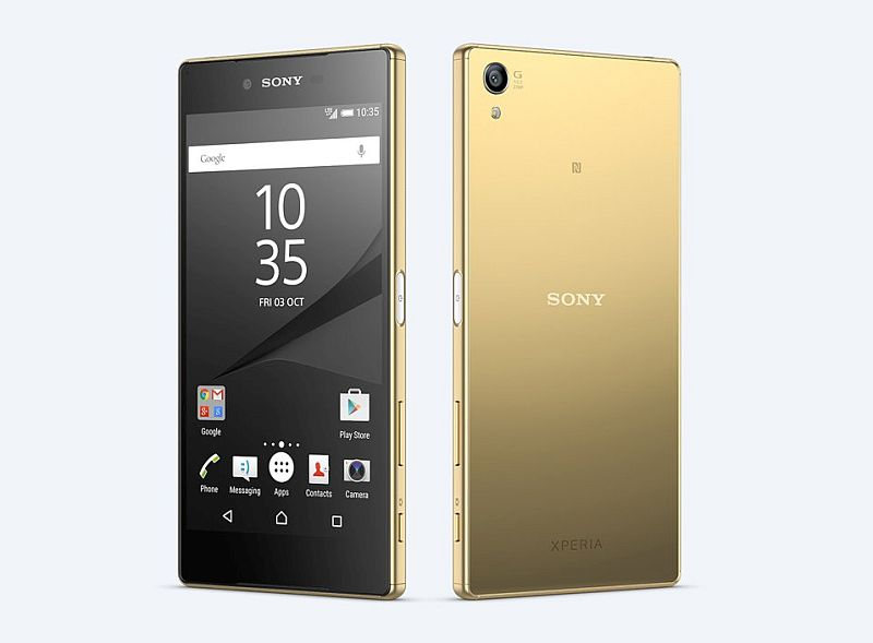 sony xperia z5 premium only renders video and image