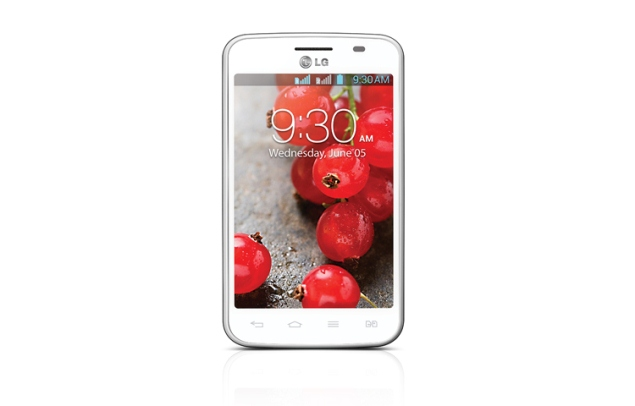 LG Optimus L4 II Dual listed on company's website for Rs. 9,850