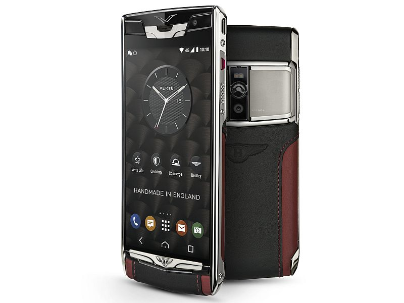 Vertu Signature Touch for Bentley Premium Smartphone Launched