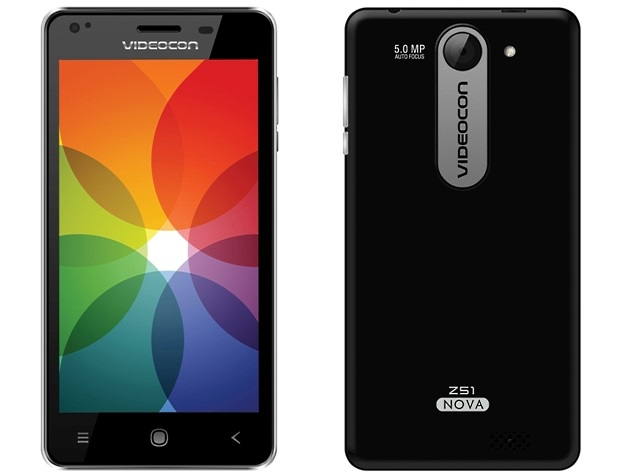 Videocon Infinium Z51 Nova With 5-Inch Display Launched at Rs. 5,400