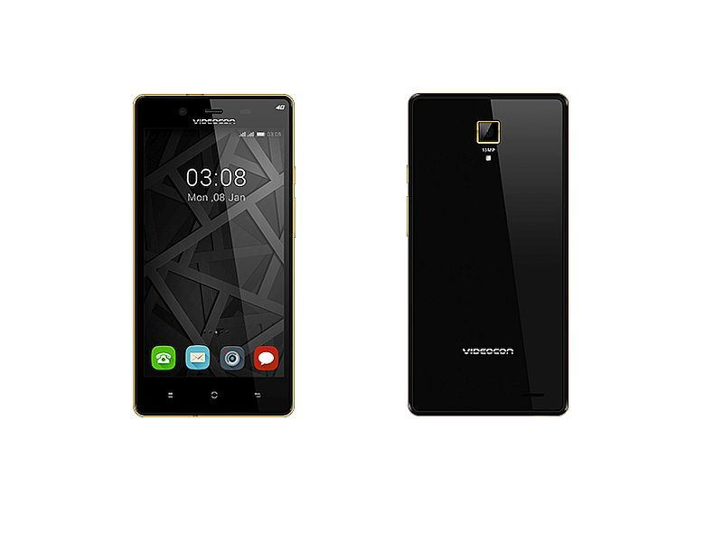Videocon Krypton V50FG With 4G LTE Support, 5-Inch Display Goes Official